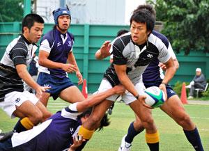 9月末に行われた、関東大学ジュニア選手権リーグ戦・明治大学戦