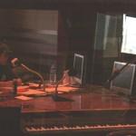 ラジオ局の様子