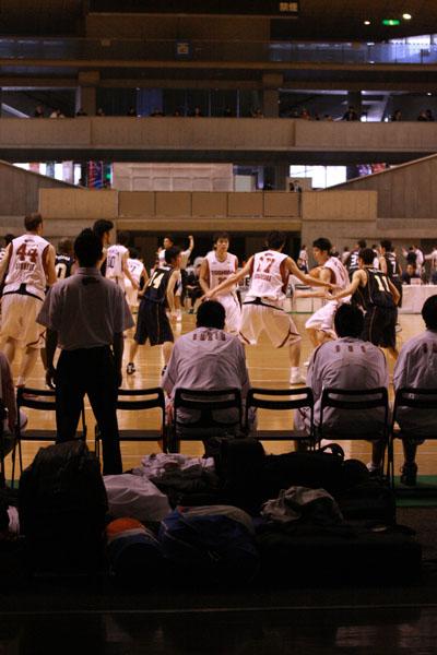 試合が進む東京体育館。これから日本のバスケットはどこへ向かうのか。