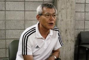日本のバスケットボールを語った佐々木HC。