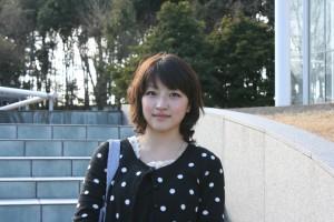 総合政策学部1年 赤木野々花さん