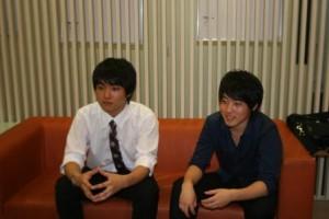 イベントを主催する、KOSMIC日吉代表の西山さん(写真右)