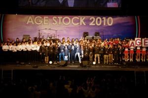 横浜アリーナの大舞台で大成功を収めたAgeStock