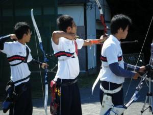 科学的スポーツである洋弓(提供:洋弓部)
