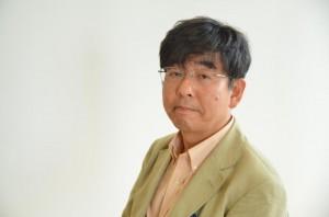震災文学の役割について語る高嶋哲夫氏