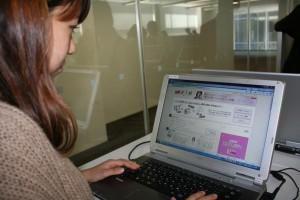日経ウーマンでは、働く女子がつながる場を提供している