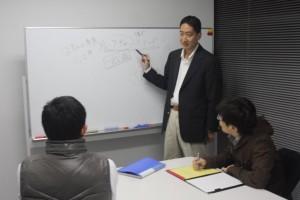 慶応就職塾の授業風景