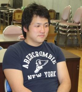 慶大での4年間を振り返る伊場選手