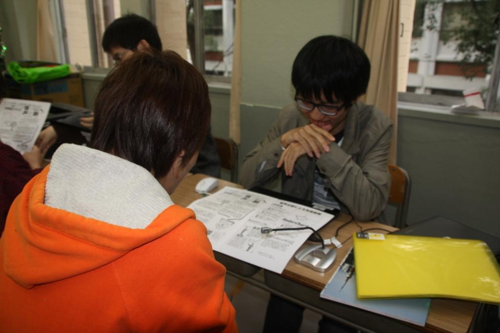 2012.11.22 三田祭速報(長屋)