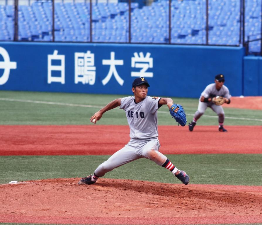 白村明弘投手