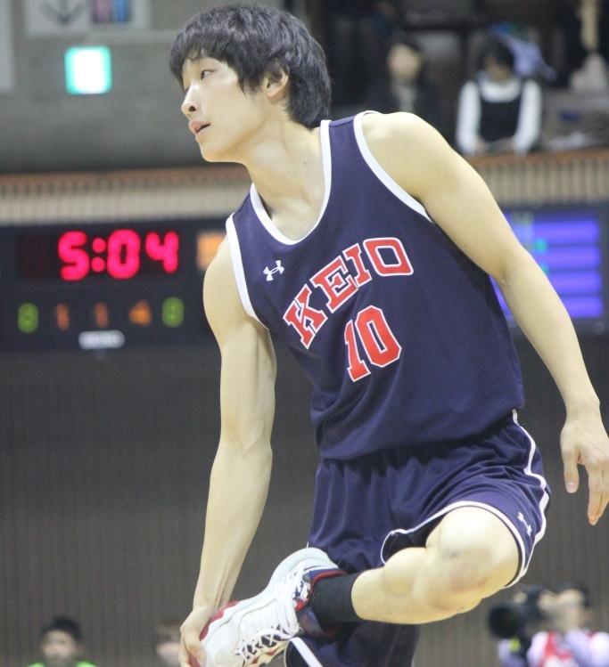 バスケ 矢嶋選手