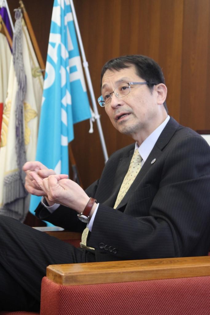 筑波大学長
