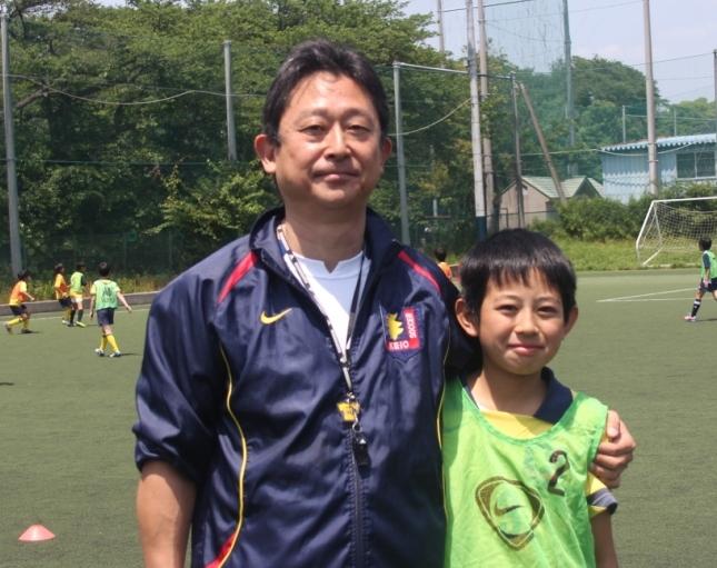 代表の西村さん(左)と奥君(右)