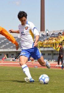 ソッカー部時代の武藤選手