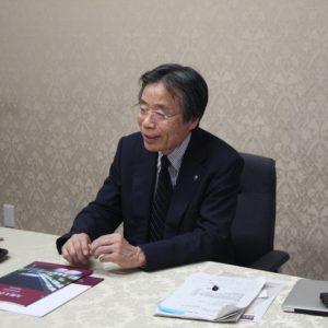 九州大学総長 有川節夫氏
