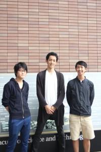 岸原さん(左)、三原さん(中)、羽鳥さん(右)