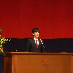 9月入学卒業