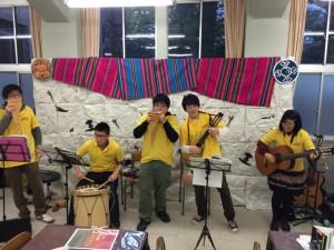本格的なラテン民族音楽を楽しめる