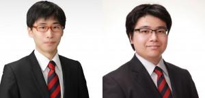 上森孝史さん(左)と諸田直也さん(右)