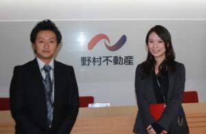 人事部の小林太一さんと佐藤夏美さん