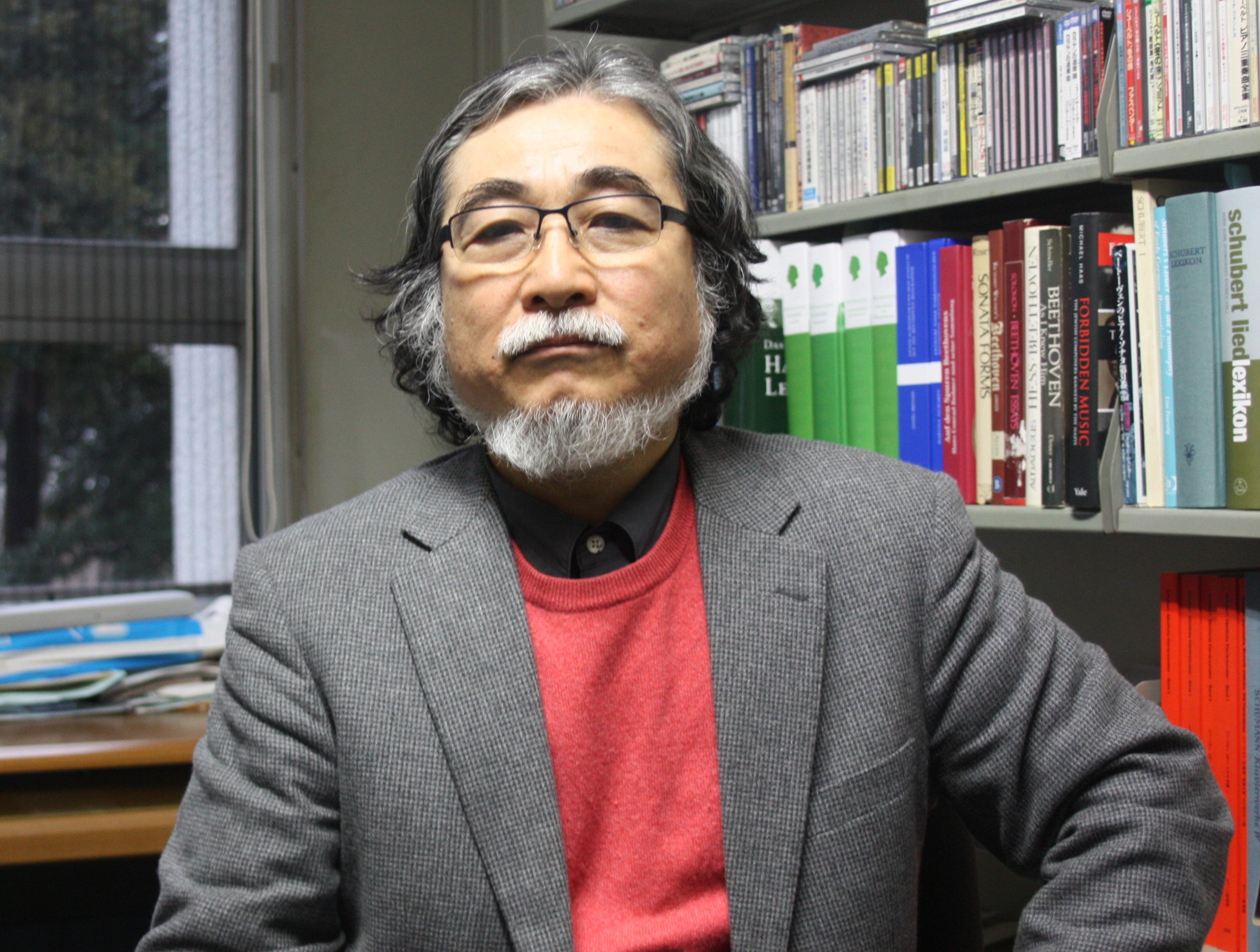 平野 昭教授
