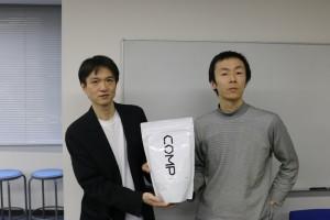 左から相原隆二COO、鈴木優太CEO