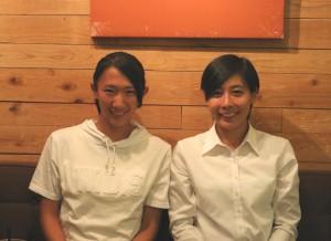 写真左が渡邉さん、右が浅野さん