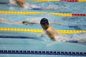 200m平泳ぎに出場した石川