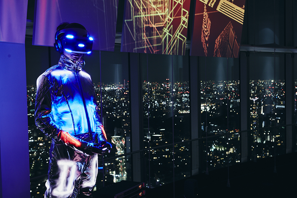 'Rez Infinite - Synesthesia Suit' Tetsuya Mizuguchi + Rhizomatiks + Keio Media Design Performed at Media Ambition Tokyo 2016