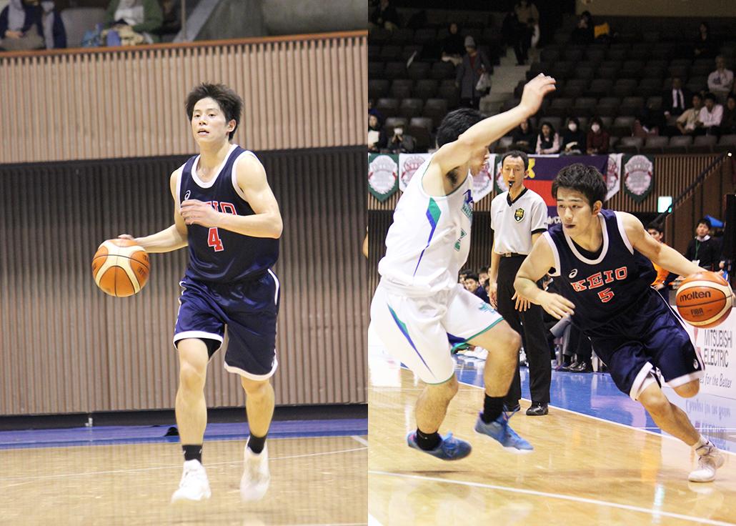 今季チームを牽引してきた西戸(左)と後藤(右)