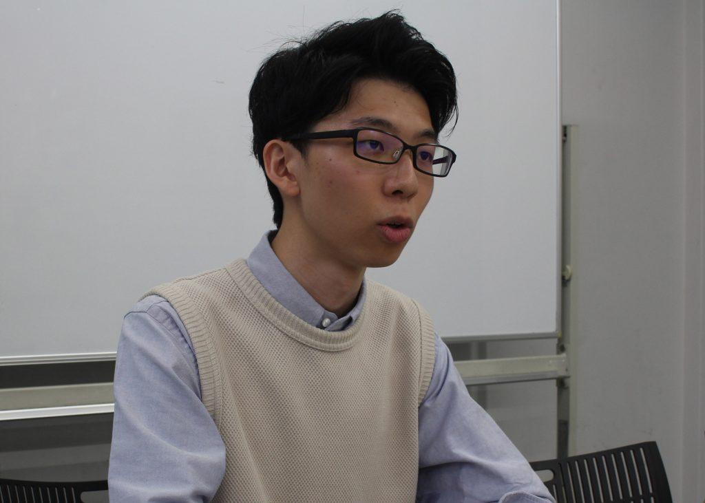 史上最年少で司法試験に合格 栗原連太郎さん(法1)