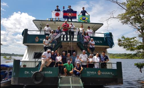第42次派遣団 アマゾン川巡回診療船