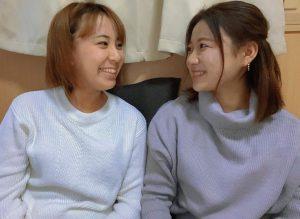 NeBAの山西櫻子さん(右)と杉山翠さん(左)